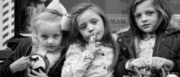 Фото-проект Джейми Джонсона: внутренний мир детей ирландских кочевников (цыган)